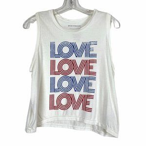 Good Hyouman Love White Tank Tee Shirt Medium